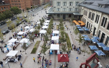 Wynkoop Plaza at Denver Union Station is managed by the Downtown Denver Partnership and available for special events!