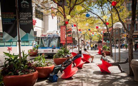 16th street mall downtown denver