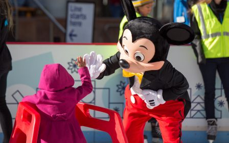Downtown Denver Ice Rink Disney Mickey Mouse