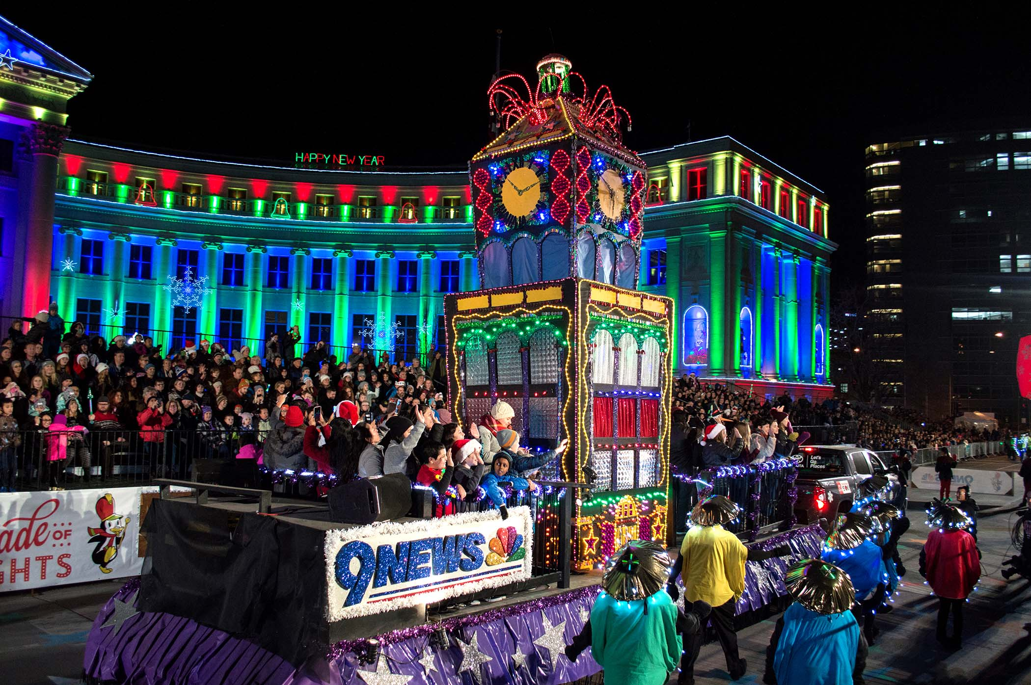 9NEWS Parade of Lights – Downtown