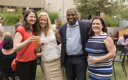 Downtown Denver Partnership Members enjoy opportunities for special events and experiences, including member events at the Skyline Beer Garden in Downtown Denver.