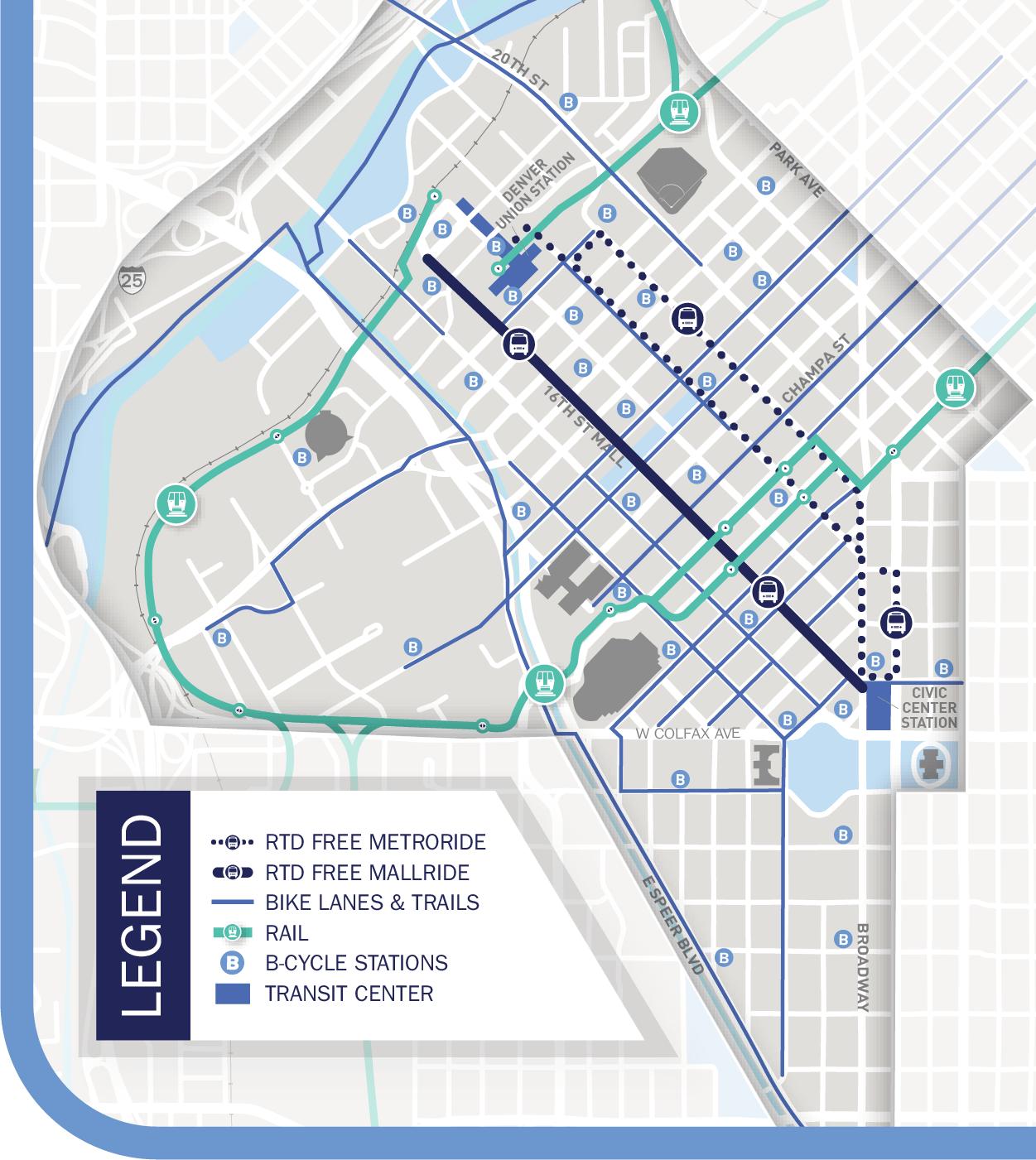 Commuter Survey 2018 Mobility Map