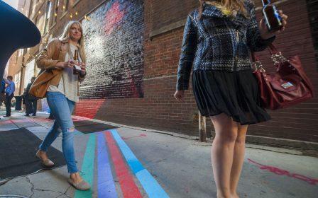 Downtown Denver alleys