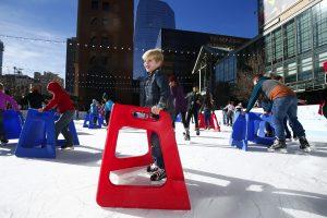 Downtown Denver Ice Skating Rink