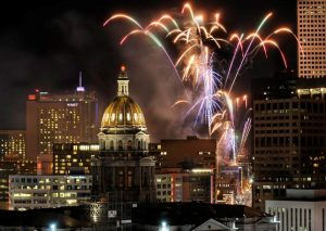 New Years Eve Denver Fireworks