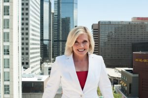 Tami Door, CEO and President of the Downtown Denver Partnership