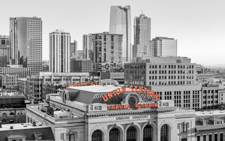 Downtown Denver Union Station skyline image